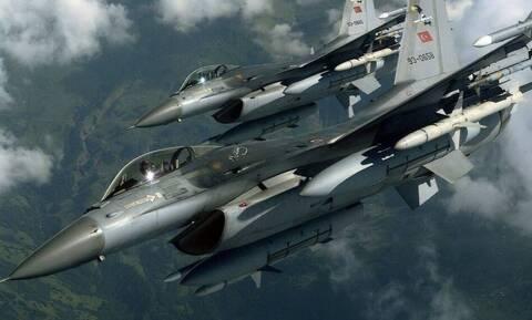 Μπαράζ υπερπτήσεων στο Αιγαίο: Τουρκικά F-16 πέταξαν πάνω από ελληνικά νησιά