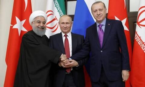 Τηλεδιάσκεψη Πούτιν - Ροχανί - Ερντογάν: Στο επίκεντρο η Συρία