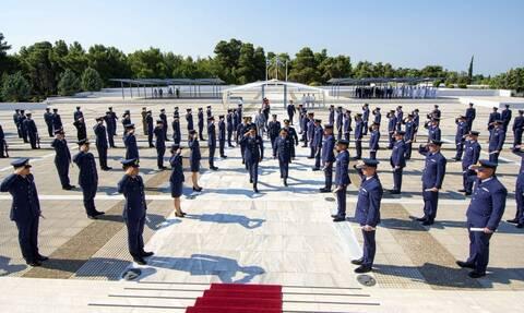 Πολεμική Αεροπορία: Ορκίστηκαν οι νέοι Ανθυποσμηναγοί