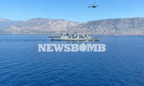Τα νέα σκάφη του Πολεμικού Ναυτικού «ΑΤΛΑΣ» και «ΗΡΑΚΛΗΣ»