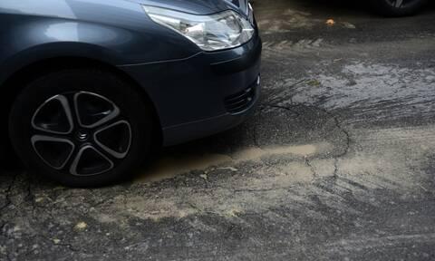Πατησίων - Προσοχή: Εργασίες αποκατάστασης του οδοστρώματος