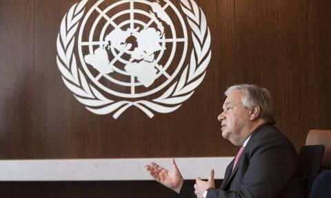 ΟΗΕ: Να σταματήσουν οι εχθροπραξίες σε όλο τον κόσμο λόγω κορονοϊού