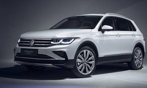 Αυτό είναι το ανανεωμένο VW Tiguan