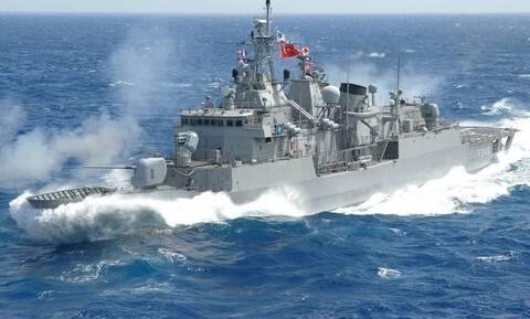 Η «Γαλάζια Πατρίδα» σε χάρτη στην επίσημη ιστοσελίδα του τουρκικού ναυτικού