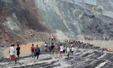Μιανμάρ: Κατέρρευσε ορυχείο - 50 νεκροί