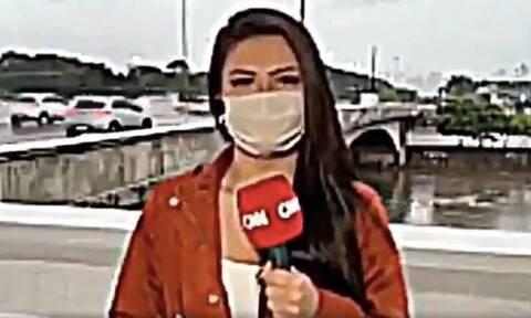Καρέ - καρέ: Λήστεψαν δημοσιογράφο του CNN με μαχαίρι σε live σύνδεση