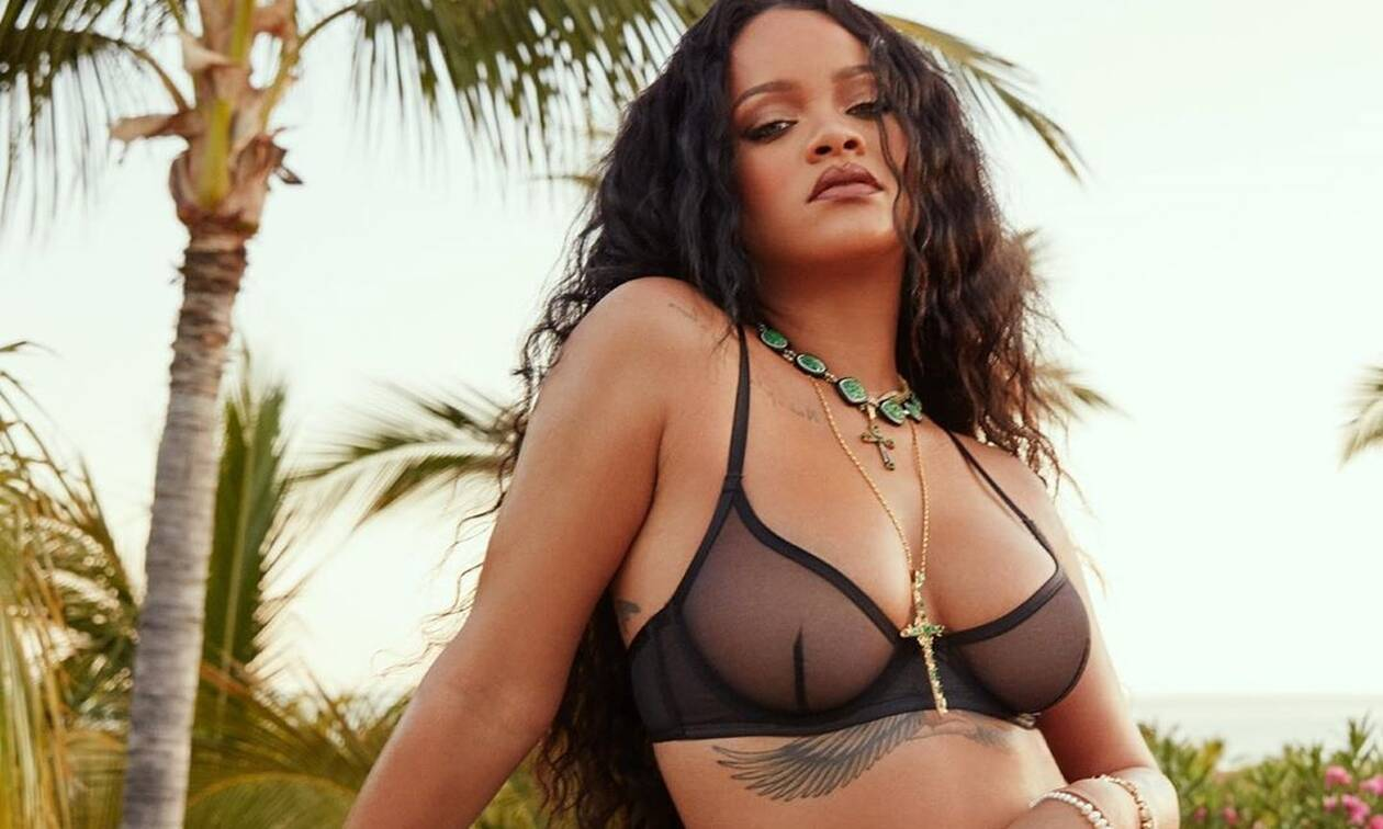 Rihanna: Ποζάρει με εσώρουχα και τρελαίνει τον αντρικό πληθυσμό (pics)