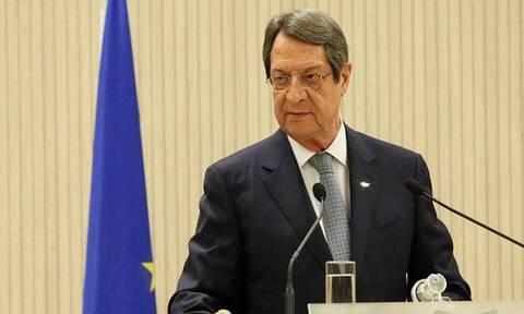 Αναστασιάδης: Έθεσε ενώπιον του Προέδρου του Ευρωπαϊκού Συμβουλίου τις τουρκικές προκλήσεις