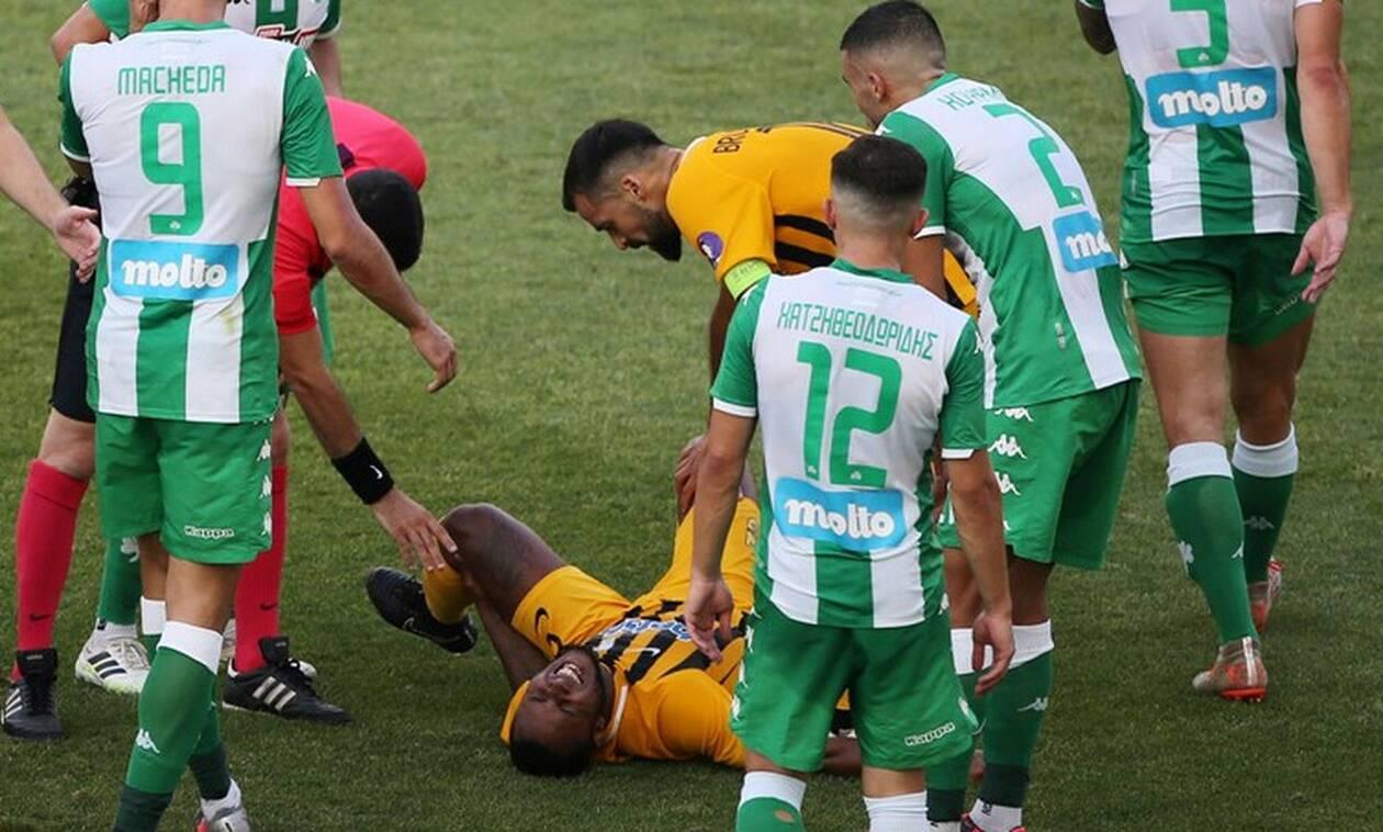 Τρομακτικός τραυματισμός για ποδοσφαιριστή του Αρη - Μένει ως και οκτώ μήνες έξω!
