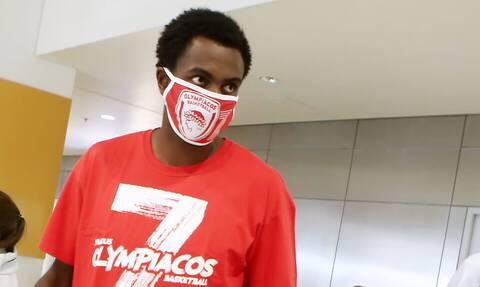 Ολυμπιακός: Στην Αθήνα ο Ζαν Σαρλ (photos)