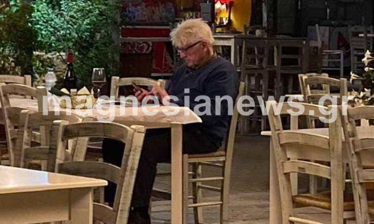 Ντόλτσε Βίτα ο πατέρας του Τζόνσον: Στο αγαπημένο του ελληνικό εστιατόριο