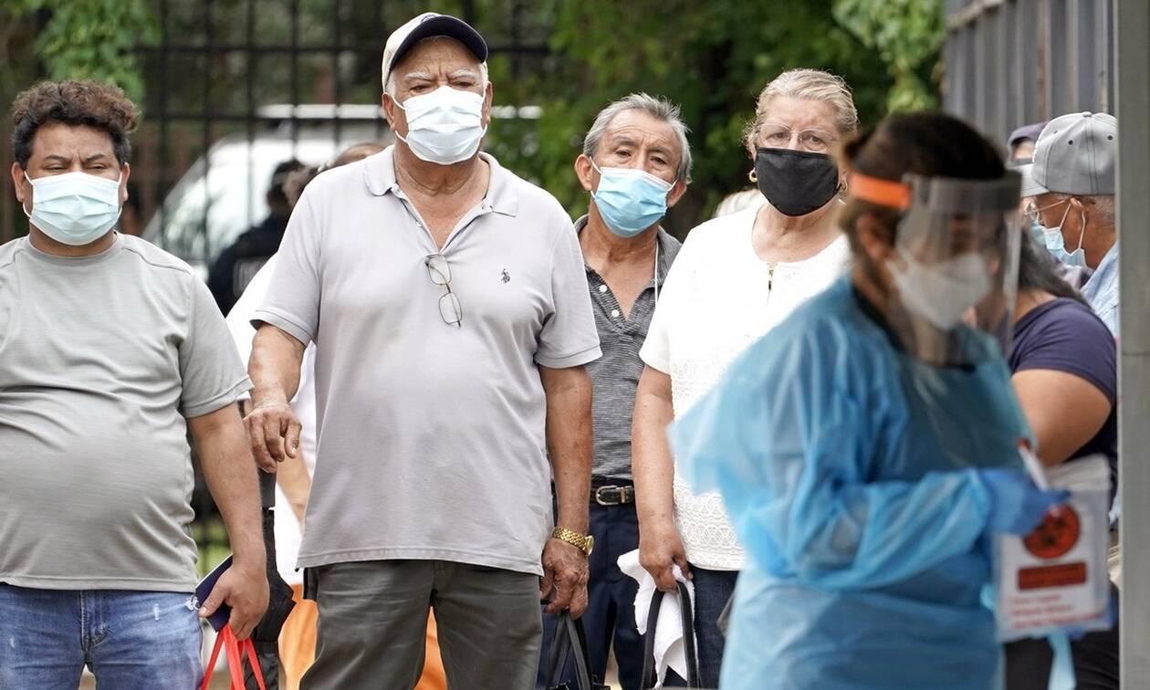 Κορονοϊός στις ΗΠΑ: Υποχρεωτική η χρήση μάσκας σε δημόσιους χώρους στο Τέξας