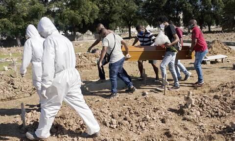 Κορονοϊός στη Βραζιλία: 1.252 θάνατοι και 48.105 νέα κρούσματα σε 24 ώρες