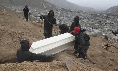 Σαρώνει ο κορονοϊός σε Μεξικό, Περού και Γουατεμάλα