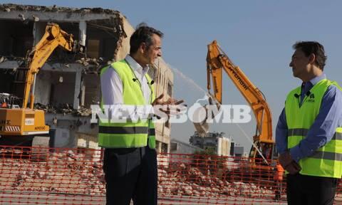 Ο Μητσοτάκης στο Ελληνικό: Ο τόπος αυτός θα γίνει κυψέλη ανάπτυξης (pics & vid)