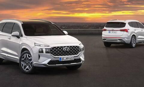 Santa Fe: Tο μεγάλο και πολυτελές SUV της Hyundai θα είναι 1.600 κυβικών και υβριδικό