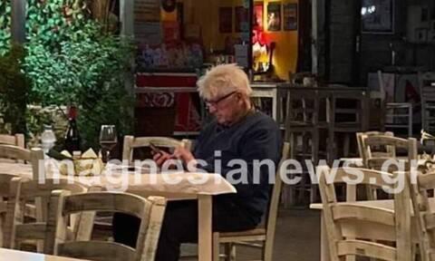 Πήλιο: Για δείπνο στο αγαπημένο του εστιατόριο ο πατέρας του Μπόρις Τζόνσον