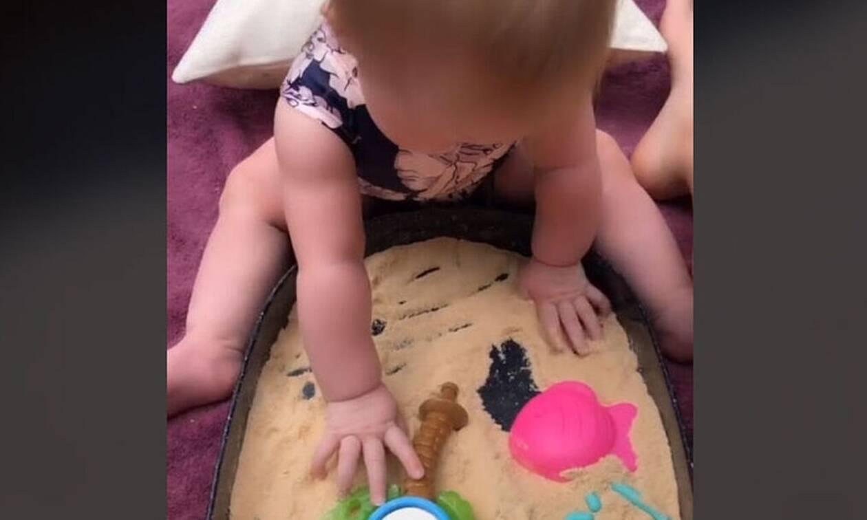 Φτιάξτε άμμο που θα μπορούν να φάνε τα μικρότερα παιδιά