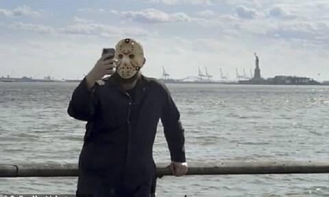 Καμπάνια ενημέρωσης του κοινού για την μάσκα από τον… Jason Voοrhees (vid)