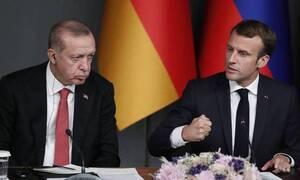 Πόλεμος Γαλλίας - Τουρκίας: Ένα βήμα πριν ανοίξουν πυρ - Έξαλλος ο Μακρόν