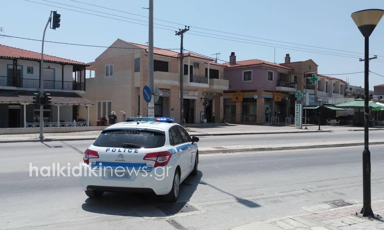 Χαλκιδική: Βόμβα σε ΑΤΜ - Επιχείρηση εξουδετέρωσης του μηχανισμού (vid)