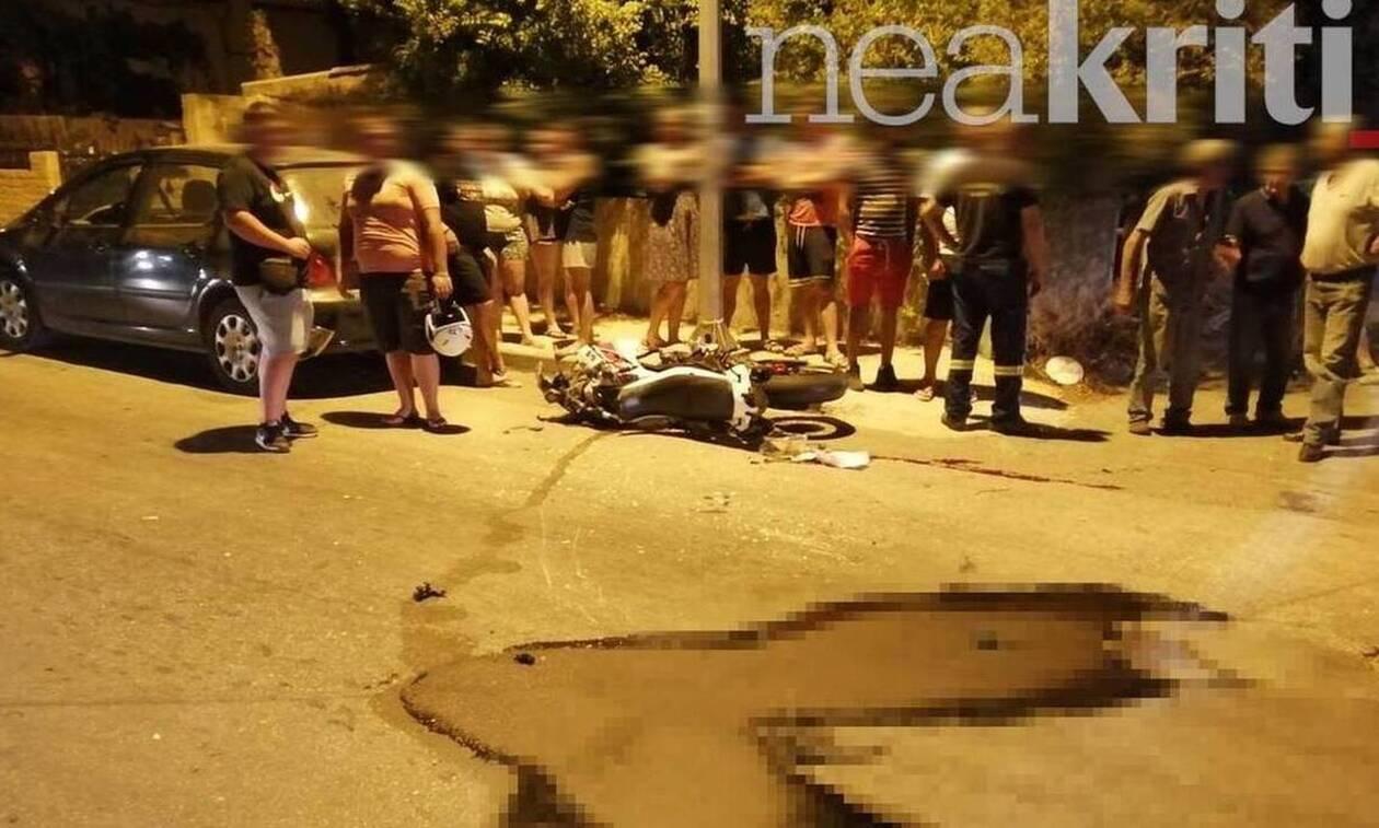 Σπαραγμός στην Κρήτη για τον 22χρονο που σκοτώθηκε σε τροχαίο