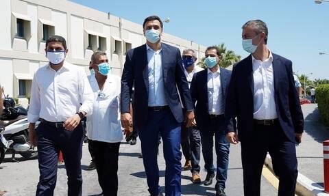 Κικίλιας: Χρειάζονται μόνιμες λύσεις για τα προβλήματα των νοσοκομείων