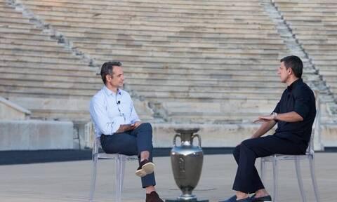 Ο Κυριάκος Μητσοτάκης θυμάται το Euro 2004 και τον θρίαμβο της Εθνικής