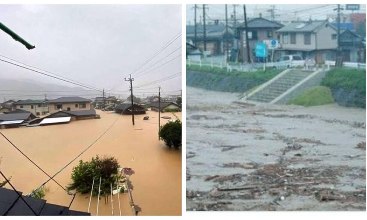 Τραγωδία στην Ιαπωνία: Δεκάδες νεκροί και αγνοούμενοι από τις σαρωτικές βροχοπτώσεις