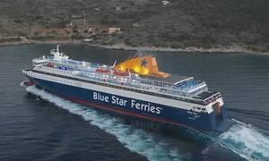 Χίος: Μάγκας καπετάνιος κάνει απίστευτη μανούβρα στο λιμάνι