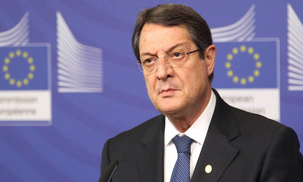 Αναστασιάδης: Οι διπλωματικές προσπάθειες Ελλάδας - Κύπρου έχουν κινητοποιήσει Ευρώπη και ΗΠΑ