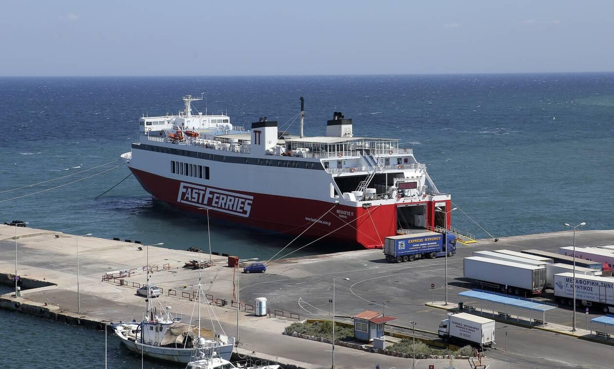 Μηχανική βλάβη στο πλοίο «Θεολόγος»: Ταλαιπωρία για 687 επιβάτες