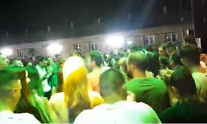 Κορονοϊός: Γλέντι 2.000 ατόμων στο Γουδή - Ο ένας πάνω στον άλλον (vid)