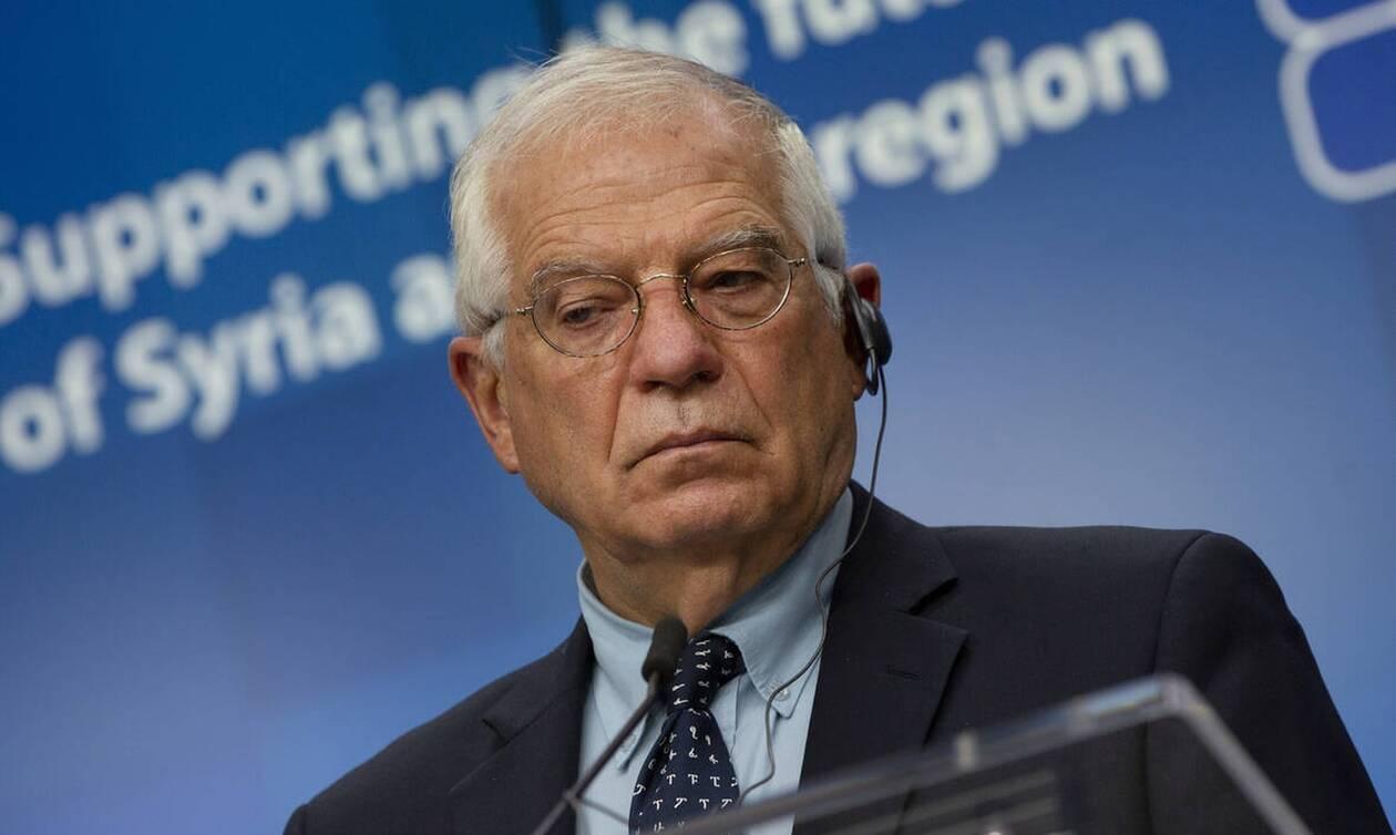 Επίσκεψη Μπορέλ στην Αγκυρα: Στην ατζέντα η εντάση μεταξύ Τουρκίας-Ελλάδας
