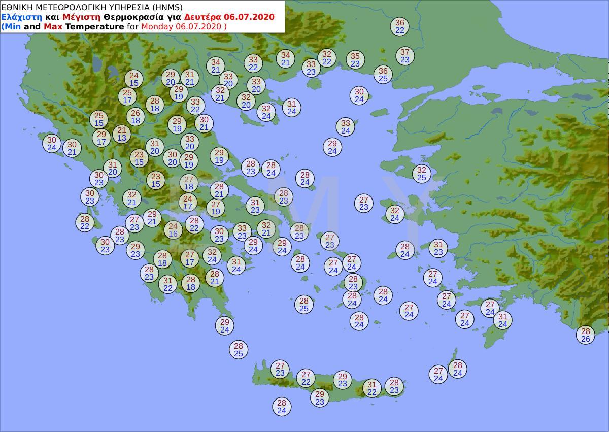 ΕΜΥ: Ιούλιος με καταιγίδες και χαλάζι - Πού θα είναι έντονα τα φαινόμενα 10
