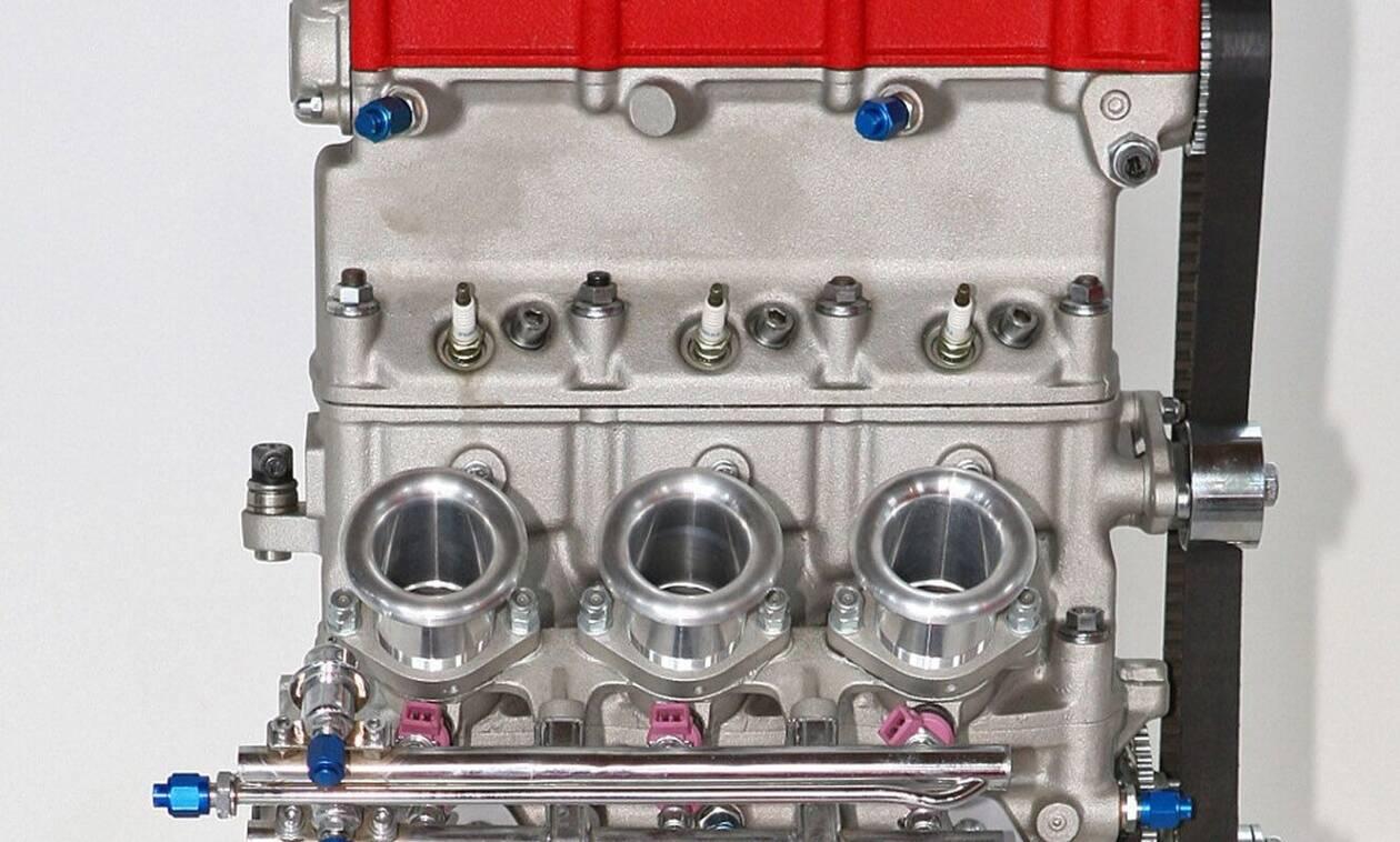Ακόμα και η Ferrari είχε... 3κύλινδρο κινητήρα!