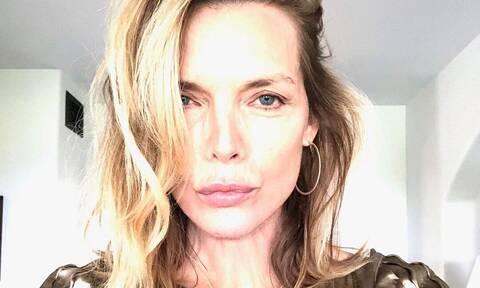 Την φωτογραφία που ανέβασε η Michelle Pfeiffer, λίγες θα τολμούσαν να την ποστάρουν