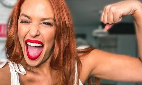Τι απαντά η Χρηστίδου στα αρνητικά σχόλια για τα κιλά της