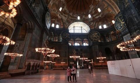 Αγία Σοφία: Το Κρεμλίνο ζητά σεβασμό από την Τουρκία αλλά το θεωρεί εσωτερικό ζήτημα