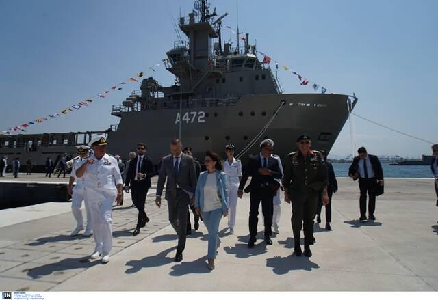 Παναγιωτόπουλος: Φόβητρο το Πολεμικό Ναυτικό - Στο Στόλο και το νέο πλοίο «ΗΡΑΚΛΗΣ» - Newsbomb - Ειδησεις