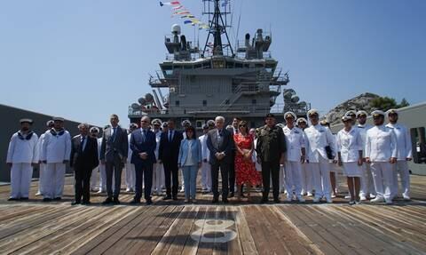 Παναγιωτόπουλος: Φόβητρο το Πολεμικό Ναυτικό - Στο Στόλο και το νέο πλοίο «ΗΡΑΚΛΗΣ»
