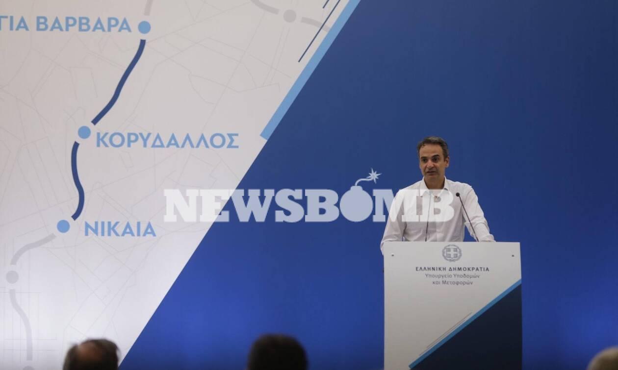 Μητσοτάκης από Νίκαια: Προτιμούμε να μιλάνε τα έργα μας - Ρεπορτάζ Newsbomb.gr