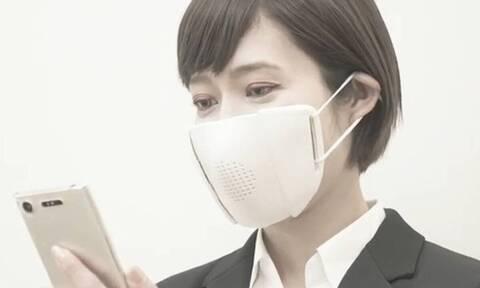 Κορονοϊός: Αυτή είναι η πρώτη «έξυπνη» μάσκα με μετάφραση και Bluetooth (vid)
