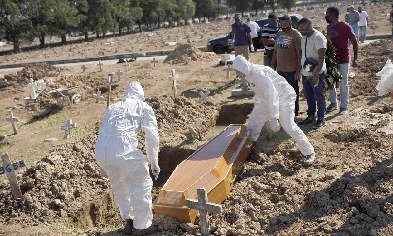 Κορονοϊός στη Βραζιλία: 620 θάνατοι και 20.229 νέα κρούσματα σε 24 ώρες