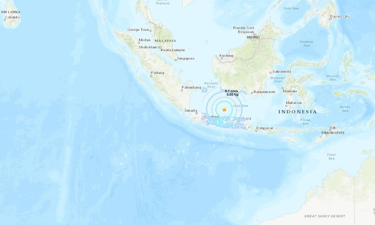 Ισχυρός σεισμός 6,3 Ρίχτερ στην Ινδονησία