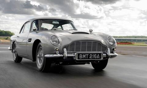 Έτοιμη η πρώτη από τις 25 νέες… παλιές Aston Martin DB5 Goldfinger