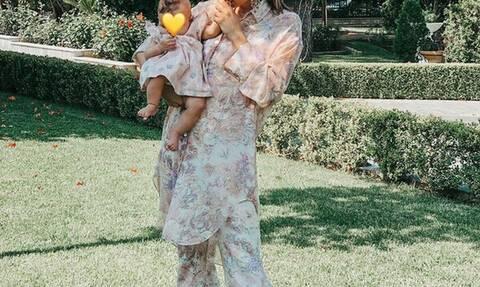 Ασορτί με την τριών μηνών κόρη της - Ποια είναι η γνωστή Ελληνίδα μαμά;