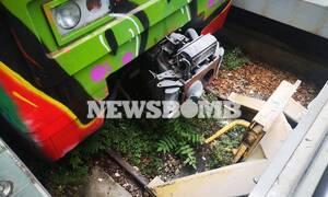 Συρμός του ΗΣΑΠ προσέκρουσε στο σταθμό της Κηφισιάς - Δέκα τραυματίες