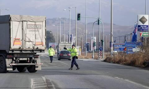 Περιορισμένη η κίνηση των αυτοκινήτων στο συνοριακό φυλάκιο του Προμαχώνα