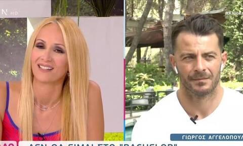 Γιώργος Αγγελόπουλος: Τι είπε για τη συμμετοχή του στο «Bachelor»; (Video)